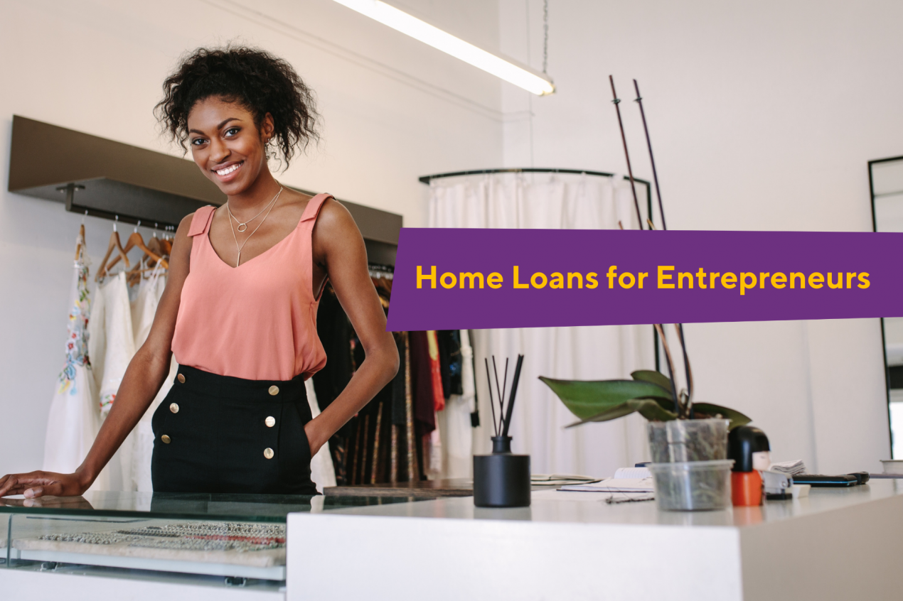 Banks actually provide more home loans and better rates to entrepreneurs but why isn't this their lived experience when buying property?
